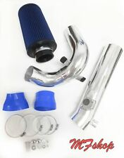 Blue For 2PC 2006-2011 Mazda RX8 RX-8 1.3L Cold Air Intake Kit + Filter