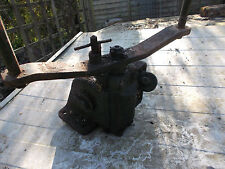 BRITISH ARMY MILITARY VEHICLE TRUCK LORRY SPARE WHEEL LIFTING WINCH VINTAGE ITEM