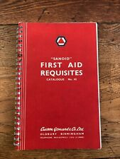 More details for sanoid - first aid requisites catalogue number 43 . 1954