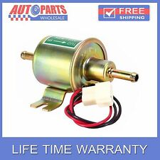 12V NEW UNIVERSAL ELECTRIC FUEL PUMP INLINE DIESEL PETROL 1.2A 3-6PSI HEP-02A AW