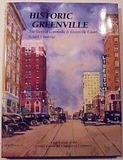 Historic Greenville by Judith Bainbridge (2008, Hardcover)
