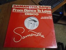 """Samantha Sang From Dance To Love/ I'll Never Get Enough Of You 12 """"Single Sealed"""