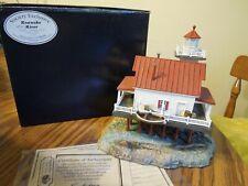 "Harbour Lights 2002 Society Exclusive Roanoke River North Carolina #538 6"" #2837"