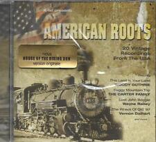 CD 20T AMERICAN ROOTS CARTER FAMILY/WOODY GUTHRIE/BILL MONROE/ROY ACUFF NEUF