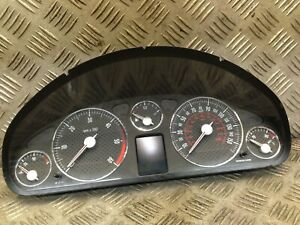 PEUGEOT 407 2006 COUPE 3DR SPEEDOMETER INSTRUMENT CLUSTER 9654815280 89661232