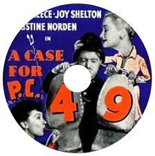 A Case for PC 49 - Mystery Crime Drama - Brian Reece, Joy Shelton - 1951 - DVD