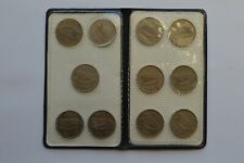 More details for ireland half crown set 1951 to1967 including rare 1961 mule coin (11 coins) eire