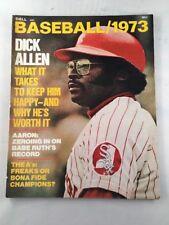 DELL BASEBALL1973 Vintage Magazine Chicago White Sox Dick Allen Front Cover