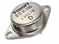 TOKIN SIT FET Power SIT Static Induction Transistor 2SK180 D Rank 600V 20A 300W