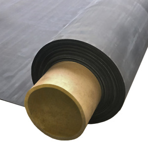 Rubber Roofing Sheet for Flat Roofs | Flexi Proof EPDM Membrane 1M - 6M  Wide
