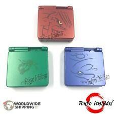 Kit Game Boy Advance SP Pokémon - Groudon - Kyogre - Rayquaza / Case Coque Shell