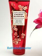 Bath and Body works JAPANESE CHERRY BLOSSOM Ultra Shea Body CREAM lotion 8 oz