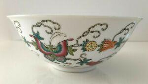 Ciotola famiglia rosa Famille Rose porcellana cinese farfalle vintage collezione