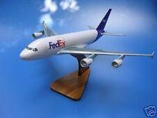 A-380 Fed Ex FedEx A380 Airplane Desk Wood Model Small New