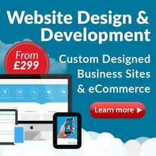 WEB DESIGN, WEBSITE DESIGN HOST, ECOMMERCE, RESPONSIVE, SEO, EBAY, FOR SALE
