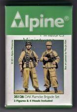ALPINE MINIATURES 35126 - DAK RAMCKE BRIGADE SET - 1/35 RESIN KIT