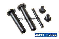 Army Force Airsoft Toy Metal Receiver Lock Pin Set For M Series AEG AF-EX006