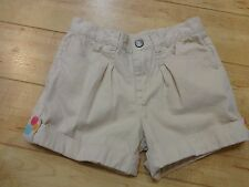 Girl Gymboree Popsicle Party Khaki Shorts 8 NWOT