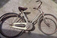 Antica BICICLETTA GLORIA Milano freni a bacchetta seconda guerra mondiale epoca