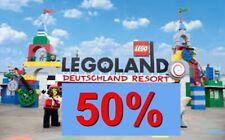 ✅50% online Gutschein Rabatt Eintrittskarten Tickets Legoland Günzburg - Billund
