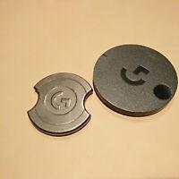 Gaming Maus Gegengewicht 10g + Logitech G903 G403 G703 Tür hinten Abdeckung Kit