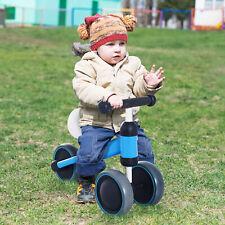 HOMCOM Bicicleta sin Pedales para Niño 1-3 Años Triciclo Aluminio