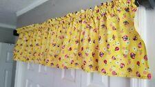 Lady Bug Curtain Valance, Girl's Bedroom Curtain Valance