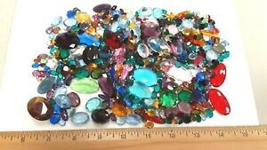 l@@K ,close out lot,very fine 500+ czech and west german unfoiled stones