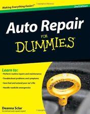 Auto Repair For Dummies Mechanic Diy Book Fix Engine Car Truck New Free Shipping