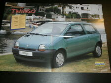RENAULT TWINGO - NO RACE CAR - POSTER AFFICHE SPANISH MAGAZINE - 2882