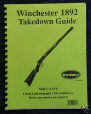 Winchester 1892 Rifles Takedown Assembly Guide Radocy