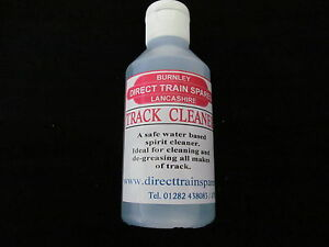 TRACK CLEANER, WATER BASED HEAVY DUTY CLEANER 250ml, 50% FREE,NEW LARGER SIZE,