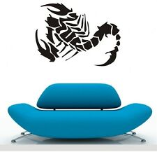 ONE LARGE scorpion Wall Stickers LIVING Decal Removable Art BOYS Vinyl Decor DIY
