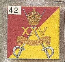 Acrylic Military Key Ring 25th.Dragoons
