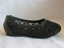 Girl Flats Lacey (spot3k) Youth Flower Girl Pageant Dress Shoes