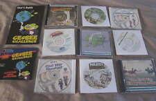 Vintage LOT History Geography Computer CD-ROM Games WIN/MAC Civil War Atlas