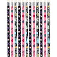 Monster High Pencils 12 pc Party Favors Pencil Set