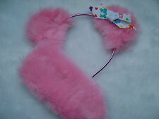 Care Bear Love-a-Lot Bear Pink Ears With Care Bear Logo Bow & Stubby Tail