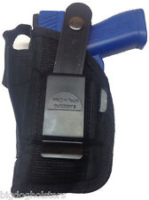 Beretta Nano with Laser Pro-Tech Nylon Gun Holster OWB Black Ambidextrous