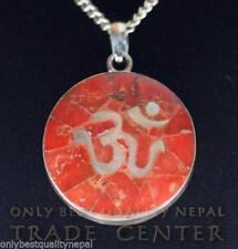 Collares y colgantes de joyería coral plata