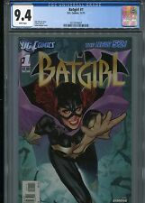 Batgirl #1  (New 52)  FP   CGC 9.4  White Pages