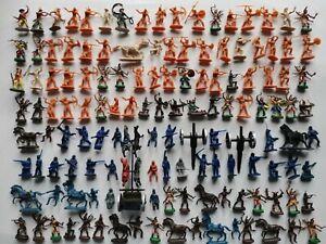 Lot soldats atlantic esci imex indiens farwest nordistes  figurines 1/72