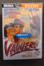 DVD western vaquero neuf emballé 1953 avec robert taylor  anthony quinn