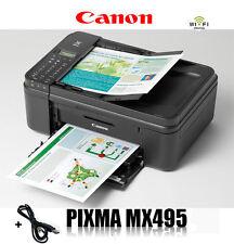 CANON MX495 MULTIFUNKTIONS DRUCKER SCANNER KOPIERER FAX WLAN AIRPRINT * NEU *