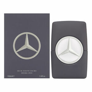 Mercedes Benz Man Grey by Mercedes Benz for Men 3.4 oz EDT Spray Brand New