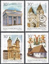 Hungary 2000 Churches/Buildings/Architecture/Religion/History 4v set (n45791)
