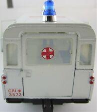 1973 1/28 MEBETOYS LAND ROVER C.R CROCE ROSSA CIVILE AMBULANCE8581 Range police