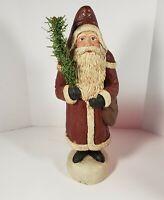 """Vintage Santa Claus Cracker Barrel 10.5"""""""