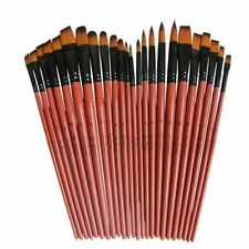Art Model Paint Nylon Hair Acrylic Oil Watercolour Drawing Art Supplies Brushes