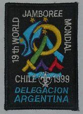 World Jamboree 1999 (Chile) Argentina Contingent Pocket Patch